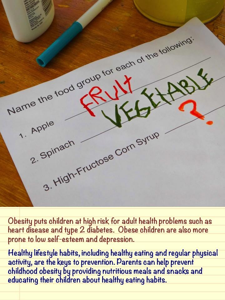 Childhood Obesity Psa Word Play